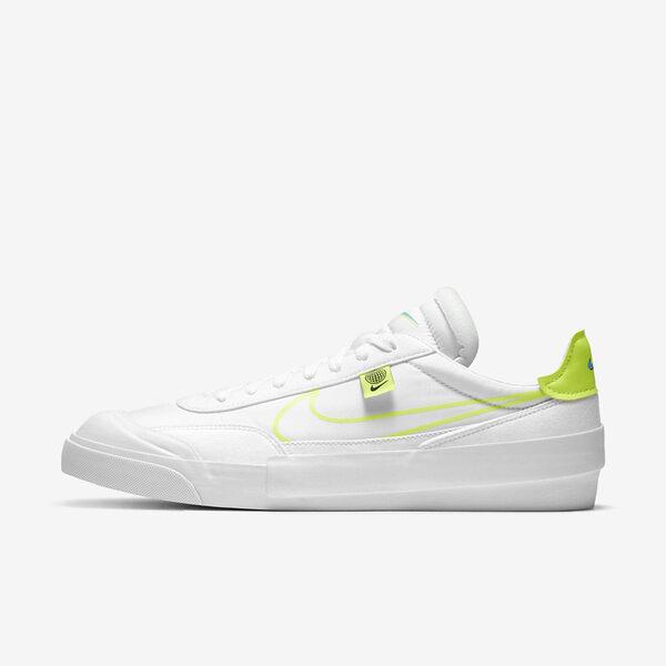 Nike Drop-type Hbr Ww [CZ5847-100] 男鞋 運動 休閒 舒適 穿搭 簡約 基本 白 螢黃