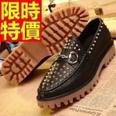 厚底休閒鞋-自信日系細緻走秀款男鬆糕鞋2色59s21[巴黎精品】