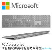 [哈GAME族]免運費 可刷卡 Microsoft 微軟 指紋識別時尚鍵盤 無線鍵盤 EKZ-00010 適用WIN10指紋登入