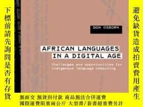 二手書博民逛書店African罕見Languages In A Digital Age-數字時代的非洲語言Y436638 Do