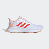Adidas Runfalcon [EF0151] 女鞋 運動 休閒 慢跑 避震 透氣 舒適 健身 輕量 愛迪達 白橘