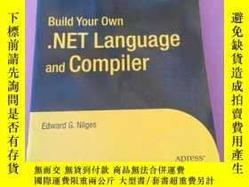 二手書博民逛書店Build罕見Your Own NET Language and CompilerY267268 Edward