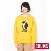 CHUMS 日本 女 Cyclone 圓領套頭衫 黃 CH121086Y001