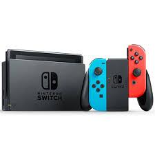 Nintendo Switch 藍紅主機電力加強版*1+ NS瑪利歐網球高手*1 公司貨