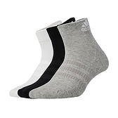 ADIDAS 男女運動短襪(三入 三色 襪子 愛迪達 免運 ≡排汗專家≡