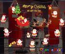 壁貼【橘果設計】歡樂聖誕 DIY組合壁貼...