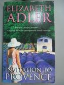 【書寶二手書T1/原文小說_JGV】Invitation to Provence_Elizabeth A. Adler