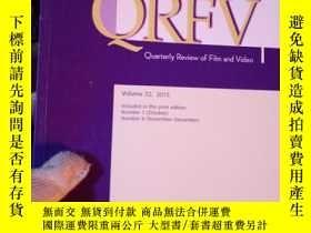 二手書博民逛書店Quarterly罕見Review of film and Vi