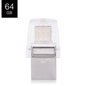 Kingston 金士頓 DataTraveler microDuo 3C DTDUO3C USB3.1 64G B OTG 隨身碟
