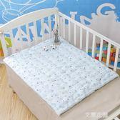 手工制作純棉花尿墊可洗新生嬰兒隔尿墊透氣寶寶床墊小褥子小被子QM『艾麗花園』