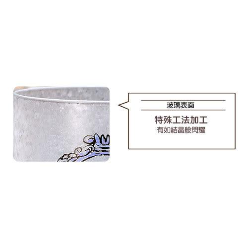 《石塚硝子》迪士尼公主日本製手繪霧面長腳玻璃杯-310ml(灰姑娘)★funbox生活用品★_IA06566