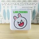 【震撼精品百貨】LINE FRIENDS_兔兔、熊大~充電器-方形造型插頭-兔兔圖案