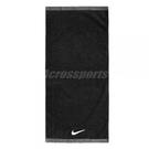 Nike 毛巾 Fundamental Towel 黑 白 Logo 棉 運動休閒【ACS】 NET1701-0MD
