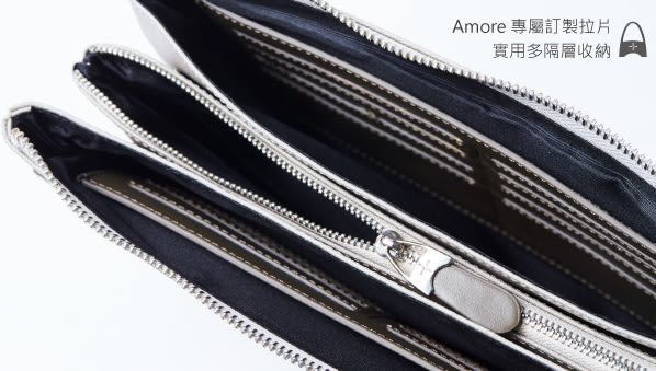 Amore 愛加丹尼 Stark系列 輕商旅三層萬用包(大)黑色