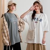 現貨-MIUSTAR PPLB膠印寬鬆長版厚磅棉質上衣(共3色)【NJ0032】