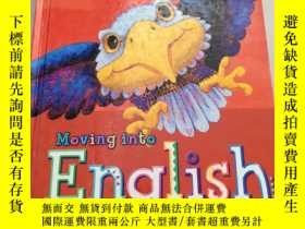 二手書博民逛書店Moving罕見into English(進入英語3)沒勾畫Y6318 Authors Harcourt 出
