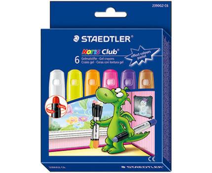 德國施德樓STAEDTLER 中性果凍旋轉蠟筆-粉彩色系*MS2390G2C6