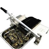 阿膠糕切片機家用手動切糕機專用切塊機商用小型牛軋糖阿膠膏切刀 快速出貨MKS