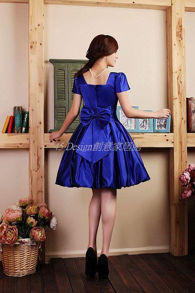 (45 Design定做款)  客製化7天到貨 小禮服//短款禮服/晚禮服/伴娘服/自助婚紗/公主裝/冬裝-藍