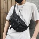 男士胸包潮牌新款潮INS超火兩用腰包多功能包帆布單肩斜背包【快速出貨】