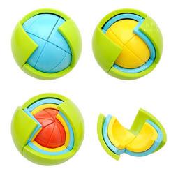 [滿額贈]3D立體迷宮拼圖智力球