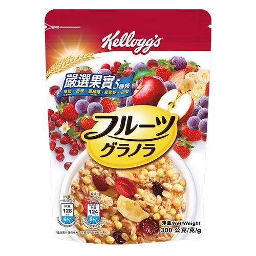 家樂氏日式水果穀片-嚴選果實300g【愛買】