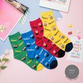 現貨✶正韓直送【K0417】韓國襪子 滿版美式芝麻街中筒襪  韓妞必備 卡通襪 阿華有事嗎