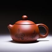 紫砂壺 手工哥窯汝窯茶壺開片大號汝瓷可養小單壺紫砂西施壺陶瓷功夫茶具 風馳
