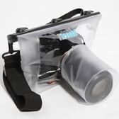 相機防水罩 特比樂單反防水袋佳能70D 60D 750D 5D2 5D3相機防雨罩防水套戶外 玩趣3C