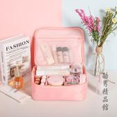 ins網紅化妝包小號便攜韓國簡約大容量化妝袋少女心洗漱品收納盒 酷男精品館