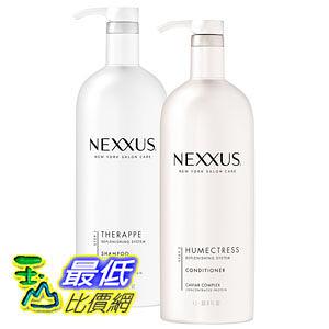 [104 美國直購] Nexxus Shampoo & Conditioner Combo Pack, Therappe Humectress 33.8 oz each B00C5AHTVQ