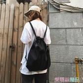 秒殺運動健身包男女可側背背可後背背包束口袋旅行袋手提抽繩包書包潮交換禮物