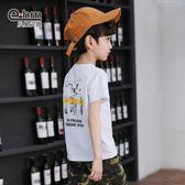 小象漢姆童裝男童夏天短袖T恤兒童體恤衫男孩t恤夏裝新款韓版