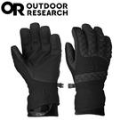【Outdoor Research 美國 女 RIOT 防風防水手套《黑》】243349/保暖手套