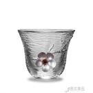 泡茶杯 泡茶錫制玻璃小茶杯單杯小杯子【618特惠】