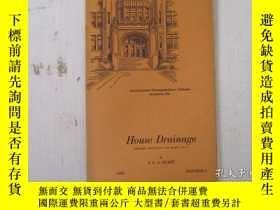 二手書博民逛書店民國:Hou罕見Drainage【USA】關於房屋建築結構等Y21905