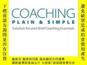 二手書博民逛書店Coaching罕見Plain & Simple: Soluti