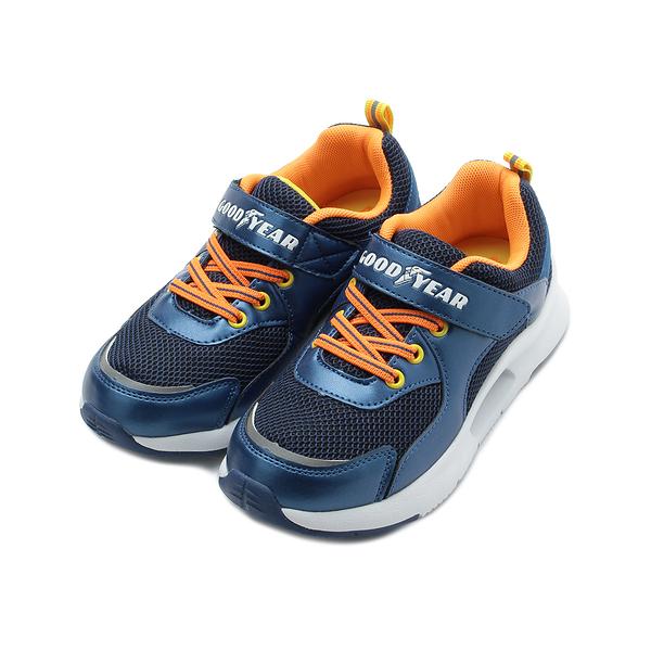GOODYEAR CUSHION 閃耀輕量慢跑鞋 藍 GAKR98400 中大童鞋 鞋全家福