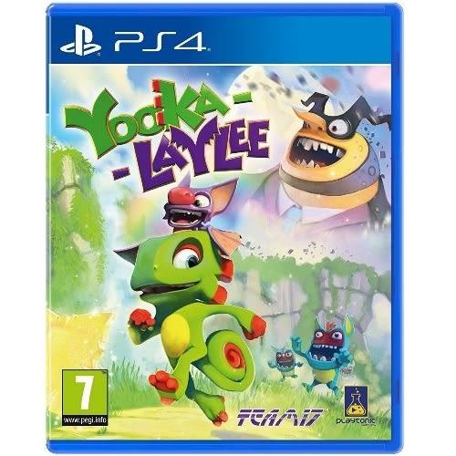 【軟體世界】PS4 Yooka-Laylee (歐版英文版)