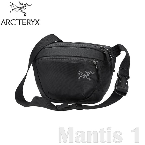 【ARC'TERYX 始祖鳥 Mantis 1L 多功能腰包《黑》】25817/肩背包/隨身包/出國旅行