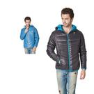 【SAMLIX 山力士】男 美國PRIMALOFT超輕暖保溫棉休閒外套(#66915藍色.黑色)