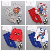 超級英雄寶寶長袖套裝 小男孩必備童裝 XE11024 好娃娃