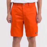 藤原本鋪 Dickies 中低腰窄版斜紋布短褲 橘 WDP16127