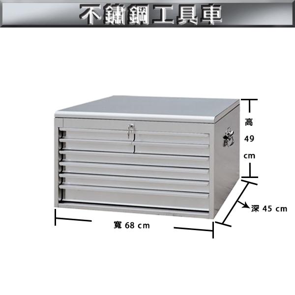【 C . L 居家生活館 】TB-006 不鏽鋼工具箱