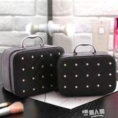 大容量化妝箱收納包旅行可愛手提便攜大小號簡約迷你化妝包  9號潮人館