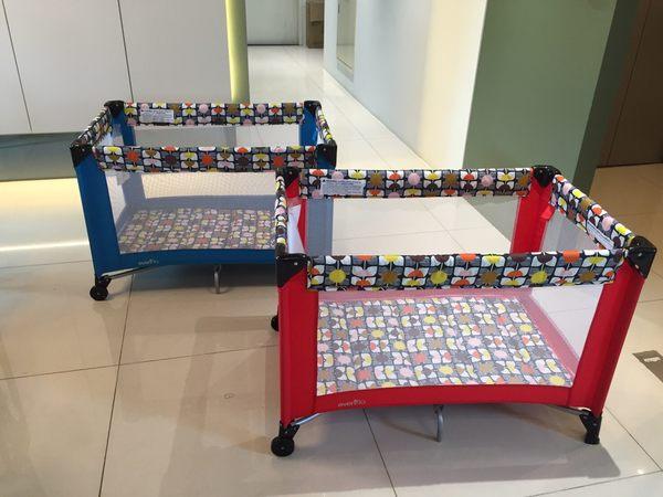 中華批發網-evenflo雙層遊戲床(二色可選)新款