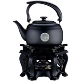 功夫茶具古典酒精爐復古茶爐家用戶外野營便攜加熱煮茶帶酒精燈爐
