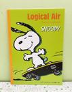 【震撼精品百貨】史奴比Peanuts Snoopy ~SNOOPY A4筆記本-綠滑板#53489