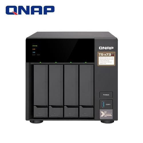 QNAP威聯通 TS-473-8G 4Bay 網路儲存伺服器