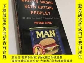 二手書博民逛書店What s罕見Wrong with Eating People
